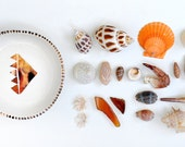 RAVI - Pyramid Jewellery Bowl - Copper Lustre - Stoneware clay - Made to Order - Free Postage Australia Wide