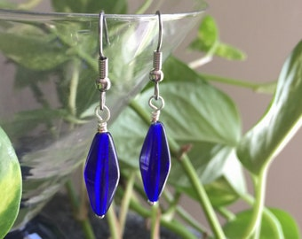 Cobalt Blue Earrings