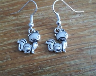 Silver Fox Earrings