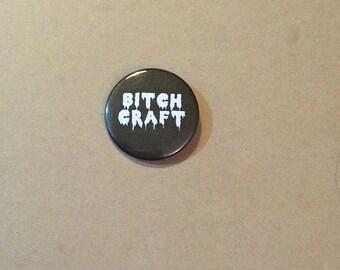 B Craft Pinback Button Badge