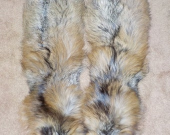 Ranched CROSS Fox Pelts ~ DISCOUNTED!
