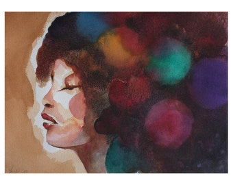 Woman - Watercolor
