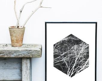 Abstract Art, Printable Art, Minimalist Print, Geometric Art Print, Abstract Wall Art, Scandinavian Art, Wall Decor,  Digital Download
