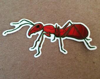 ant sticker -one vinyl sticker