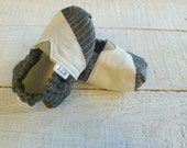 Personalized TOMs-ish Baby Boy Shoes - MENSWEAR - 3 Fabric Choices!