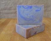 Black Amber & Lavender Artisan Bar Soap (with sunflower oil)