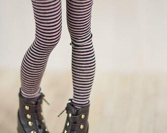 Striped leggings for BJD