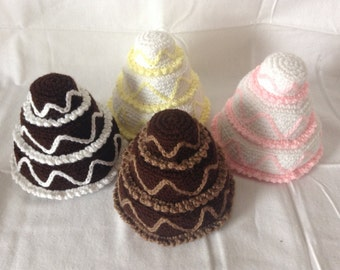 Crochet Fancy Cakes, Made to Order