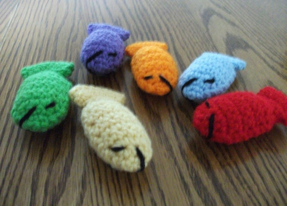 Crochet Little Fishies, Made to Order