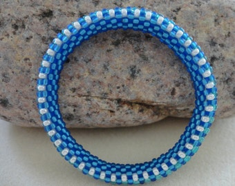 Bead Crochet Bracelet/Bangle
