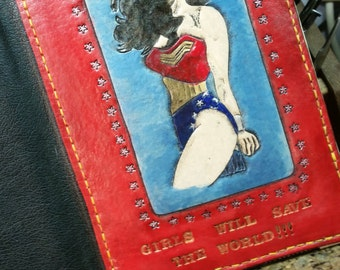 Wonder Woman Tablet - Wonder Woman Gift - Ereader Tablet - Ipad - Ipad Mini - Kindle Fire - Samsung - mom gift - Girlfriend Gift