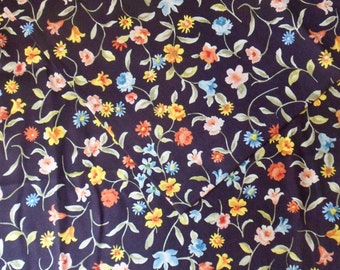 "Country Floral Cotton Fabric,  2 3/4 yd x 45"", Jo-Ann Fabric"