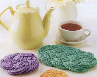 Knotted Coasters & Trivets Tutorial
