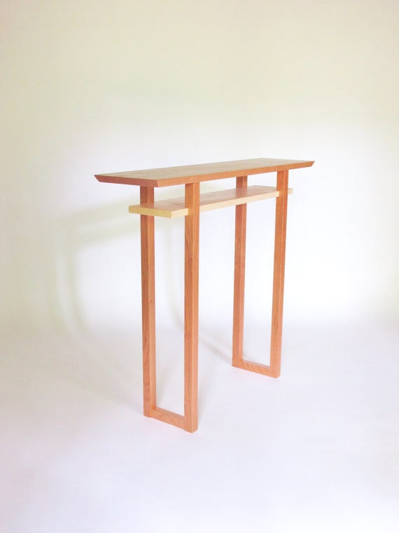Foyer Minimalist Jewellery : Minimalist foyer furniture cherry hall table console
