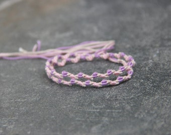 Double Zig Zag Friendship Bracelet