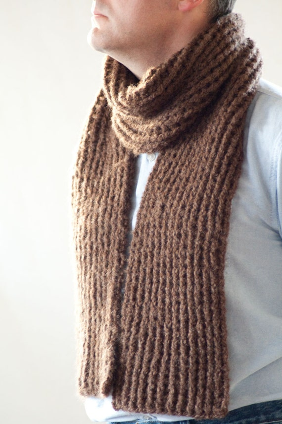 Crochet Stitch Mens Scarf : Scarf Pattern Mens Crochet Scarf Pattern DIY Mens Scarf Mens Crochet ...