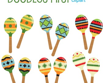 Clip Art Maracas Clipart maracas clipart etsy shake it clip art for scrapbooking card making cupcake toppers paper crafts