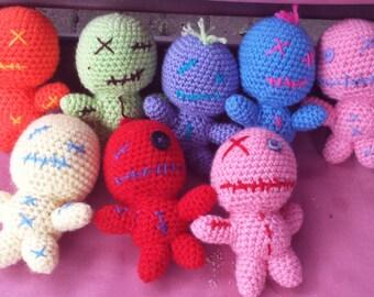 Crochet voodoo Dolls