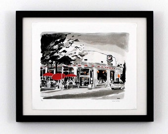 Can Can - Carytown, Richmond VA - Giclee Print
