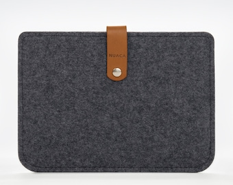Kindle Sleeve - Kindle Paperwhite Case - Kindle Felt Case - Grey Case Kindle
