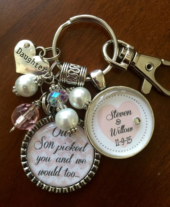 Special Wedding Gifts For Son And Daughter In Law : Future DAUGHTER in LAW GIFT, personalized bride to be Our son picked ...