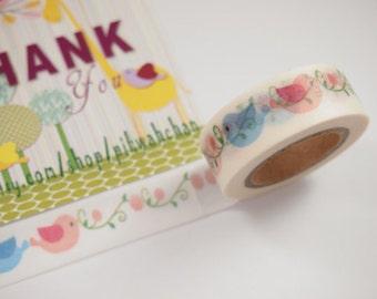 Lovely Bird Washi Tape (10M)
