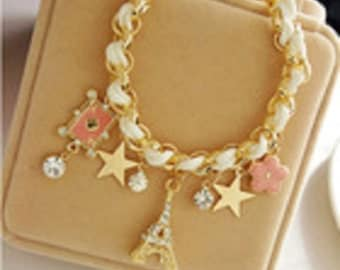 Eiffel Tower Girls Fashion Bracelet
