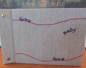 Photo Album/Scrapbook Grow, Baby, Grow