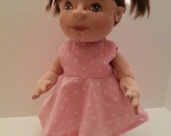 Soft Sculpture Baby Doll, Cloth Doll, Handmade Doll