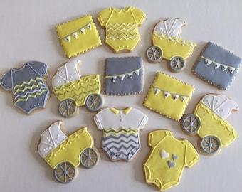 Baby Shower Sugar Cookies (one dozen)