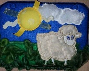 Infant Quiet Book Tactile Sheep