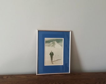 Framed Photograph - Vacation Photo, Vintage 60's Photograph