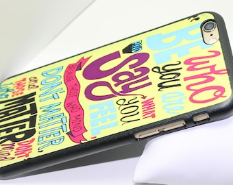 Words Of Wisdom Print Case For iPhone 6