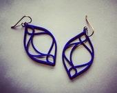 The Celia - Modern, Striking, 3D Printed Hoop Earrings - Free Shipping with code FREESHIP