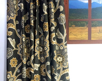 SALE! Ready to ship, Braemore Designer Drapes,  Lined Drapes,  Grommeted Drapes.