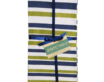 Nautical Striped Napkins - Set of four