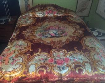 Vintage Gypsy Italian Bedspread