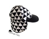 Sun & Swim Hat TRIANGLES REMIX / Baby Sun Hat / Toddler Sun Hat / Kids Swim Hat