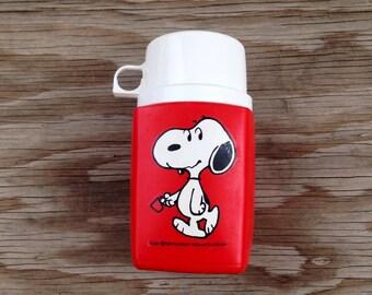 Original 1958 Snoopy Thermos