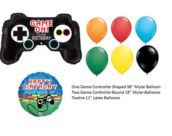Game Controller Balloons with latex balloons