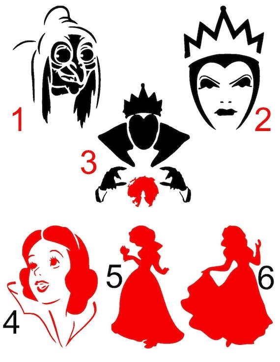 Disney Snow White & Evil Queen Iron on transfer Not So