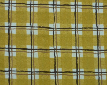 Yellow Plaid – Debbie Mumm – South Sea Imports – Quilting Patchwork Fabric FQ