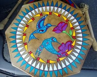 """Hummingbird 18"""" Drum"""