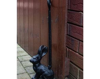 Door Porter Cast Iron Rabbit