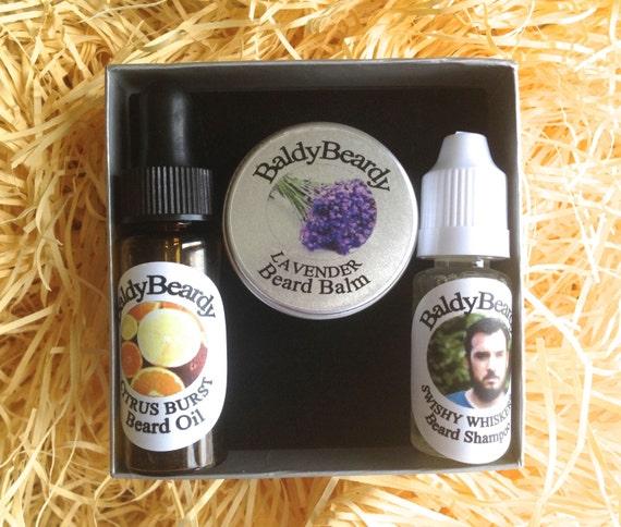 BaldyBeardy Christmas Beard Gift Box