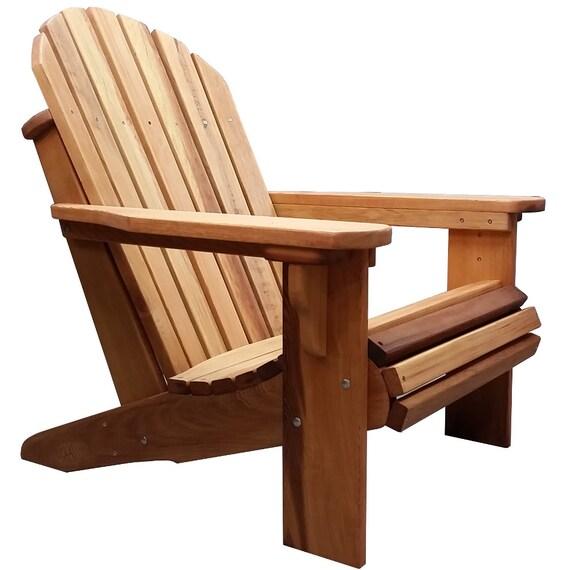 big boy western cedar adirondack chair