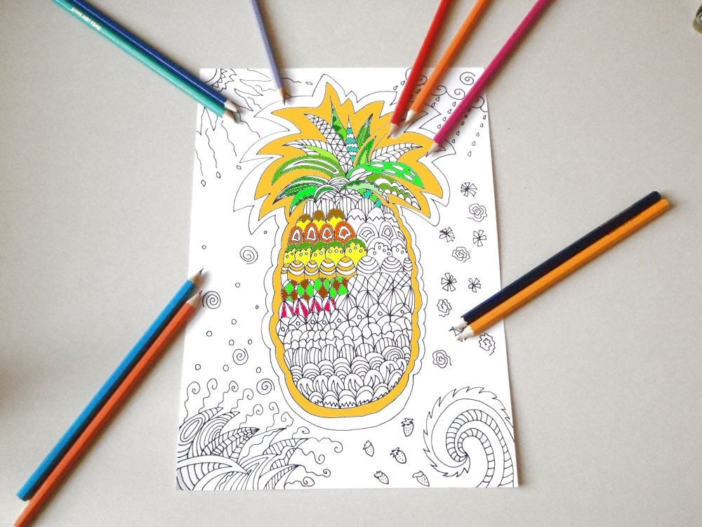 77 Coloring Book Tropical World