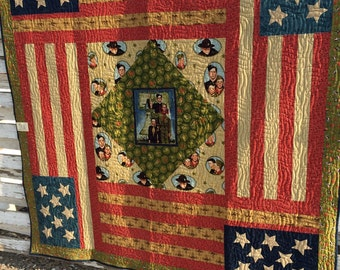 SALE Boy Scouts of America Quilt