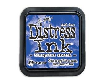Blueprint Sketch Distress Ink