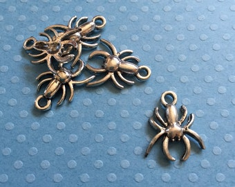 10 Spider Charms